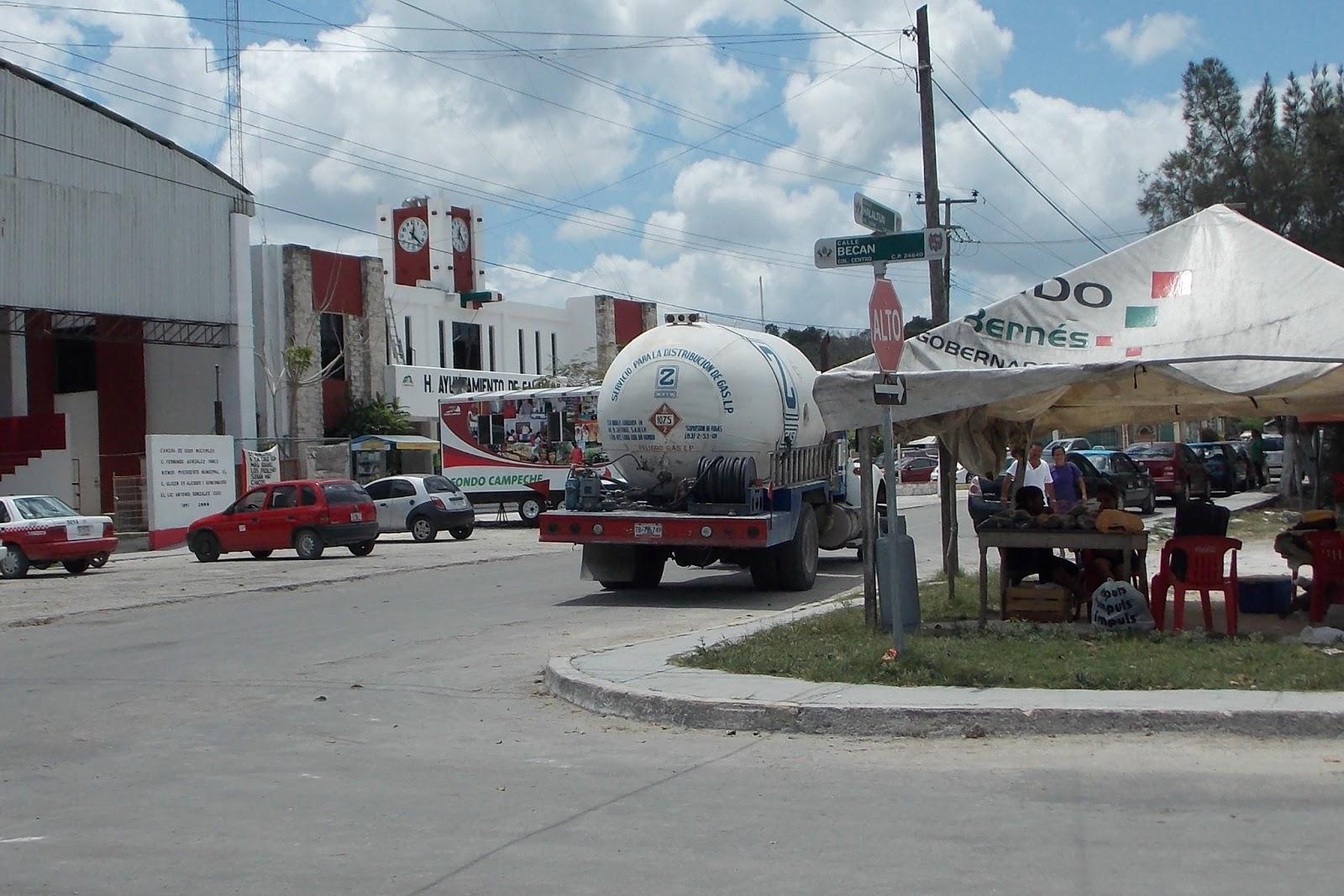 Campeche peligro latente relleno de tanques de gas for Tanque de gas butano