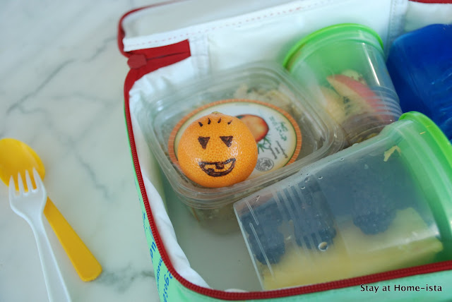 Halloween treat in a lunchbox