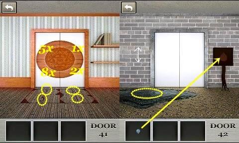 100 Locked Doors Level 41 42 43 44 45 Walkthrough