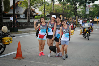 Trisha Claudine Sebastian Fitness Run at ER: The Emergency Run