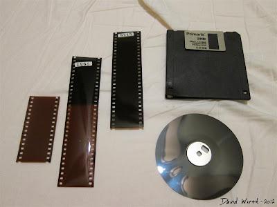 Infrared Film Camera Negative