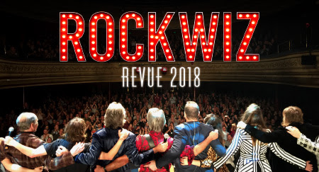 ROCKWIZ REVUE TOUR 2018 - back out on the road!