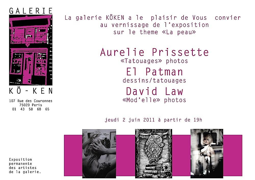 exposition paris tatouage - musée du quai Branly Tatoueurs tatoués