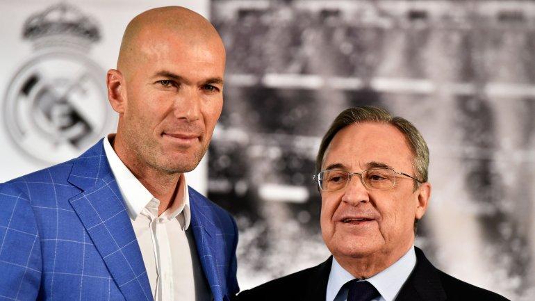 La nomination de Zinedine Zidane comme nouvel entraineur du Real Madrid et le limogeage de Rafa Benitez
