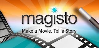 شعار تطبيق Magisto