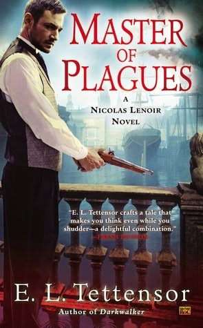 Master of Plagues dark urban fantasy detective novel by E.L. Tettensor