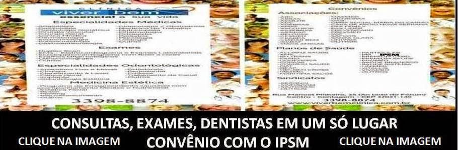 CONVÊNIO COM O IPSM