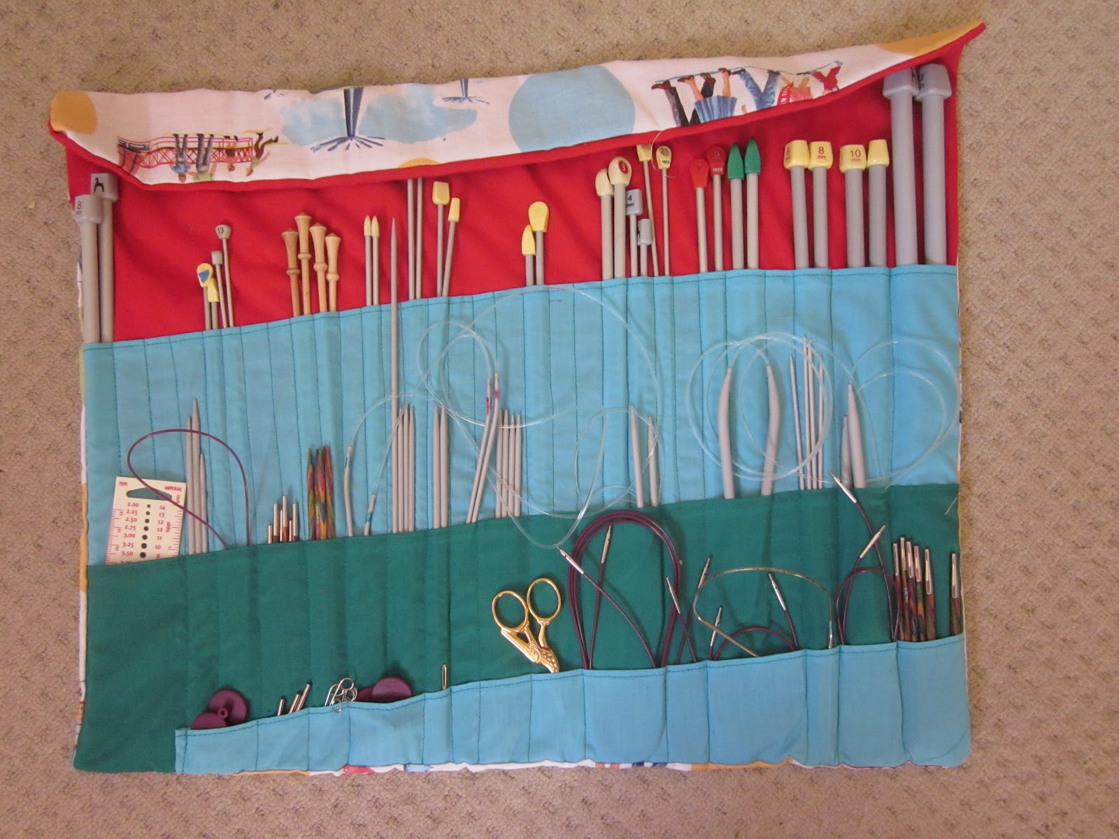 Knitting Needle Case – How to | Not So Granny