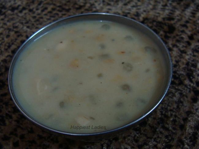 Sabudana Bengal Gram Payasa Desert+Sweet recipe