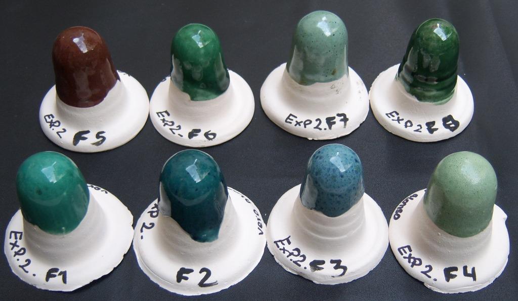 El barro y yo esmaltes de baja temperatura 1040 c Esmalte para ceramica