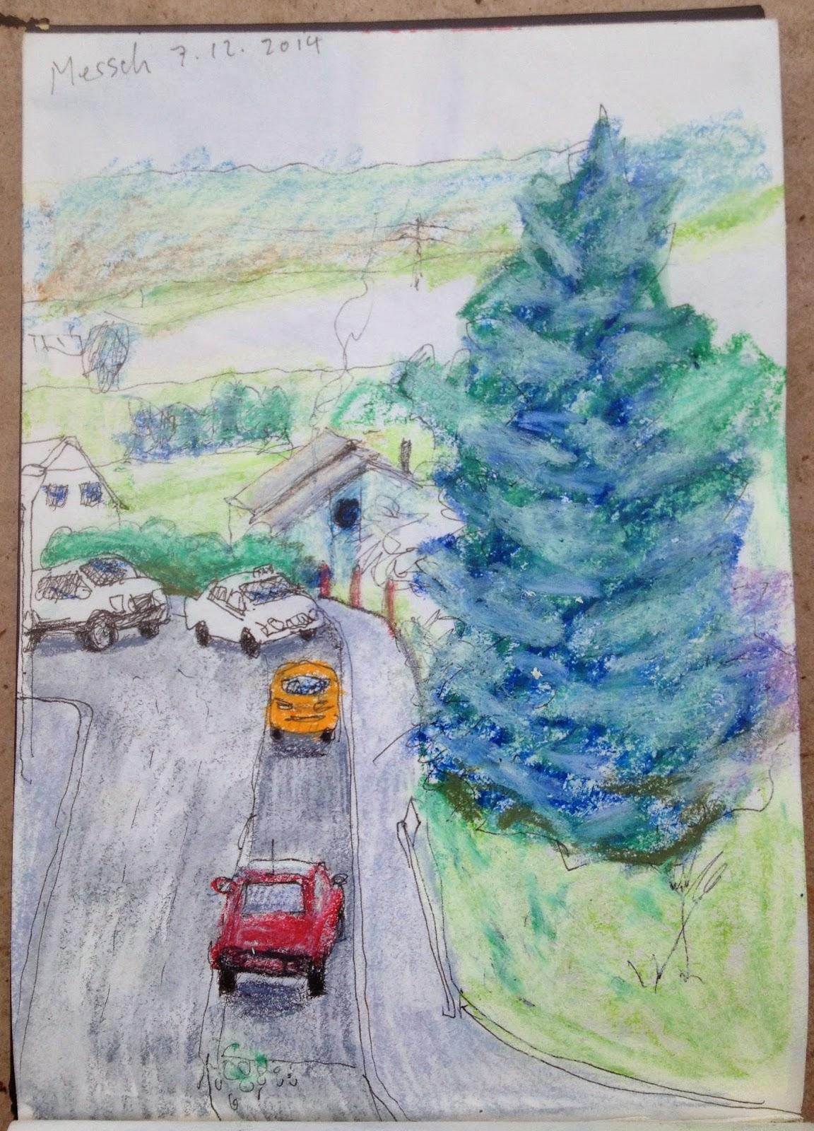 michele graedel urban sketching mersch