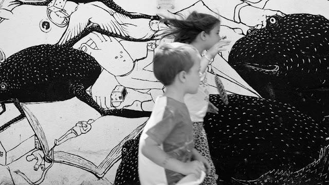 Merano, il murale di Blu ed Ericailcane