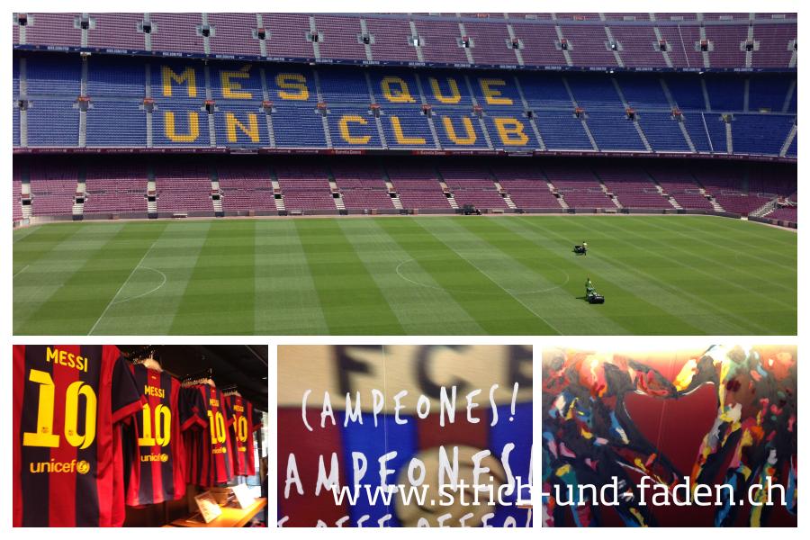 mit Strich und Faden | FC Barcelona Camp Nou