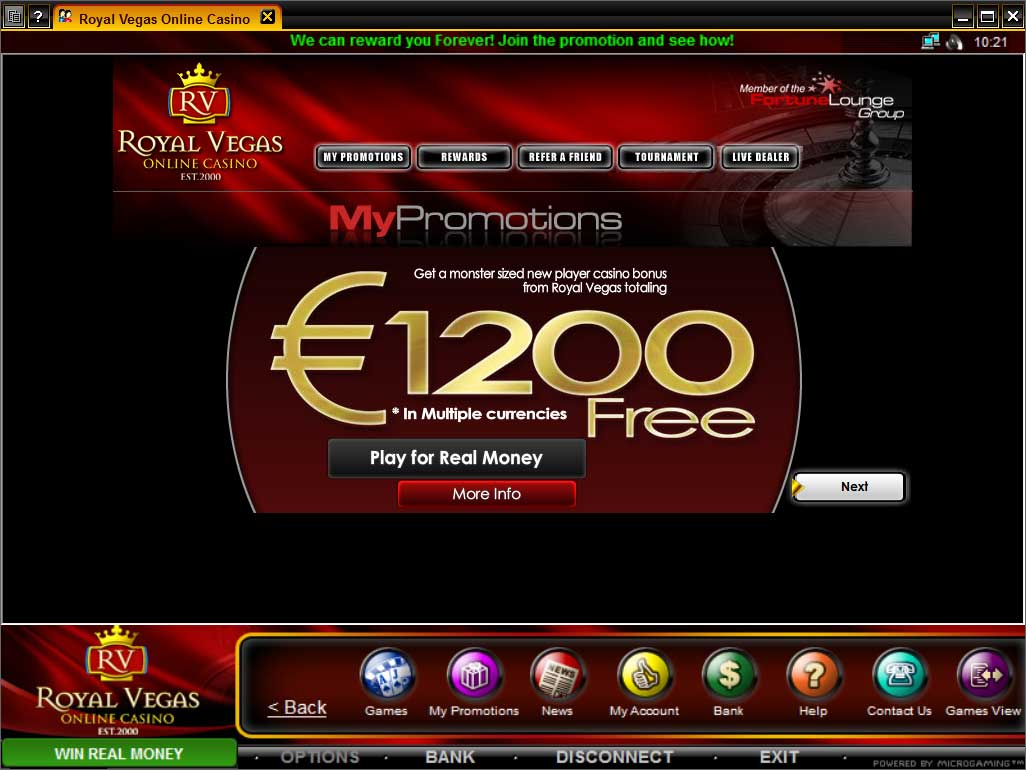 royal casino online