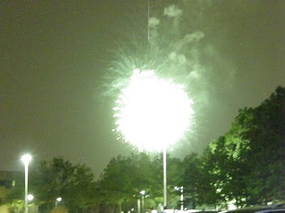suspicious fireworks?