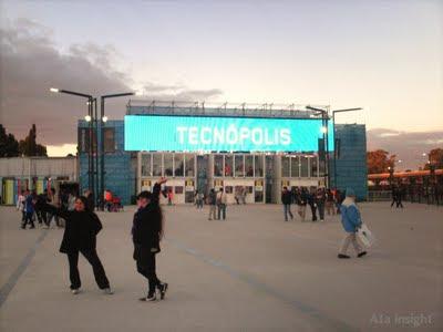 Cartel luminoso de Tecnópolis