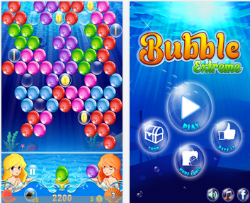 free download bubble shooter game
