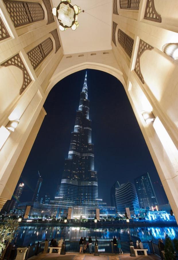 دبي ليلاً - صوراً غاية في الجمال Dubai-amazing-photos10