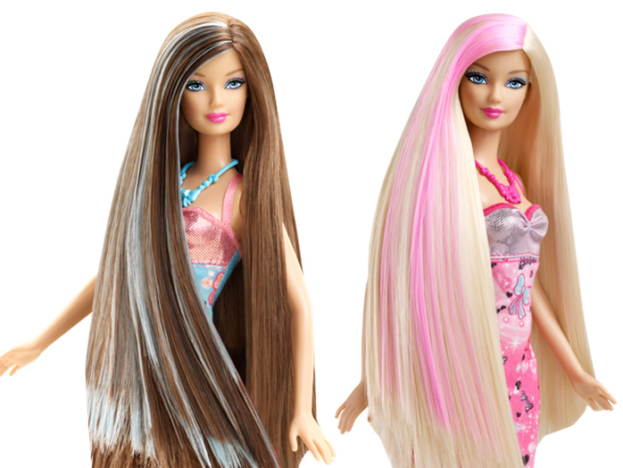 Как сделать волосы для куклы длиннее 875