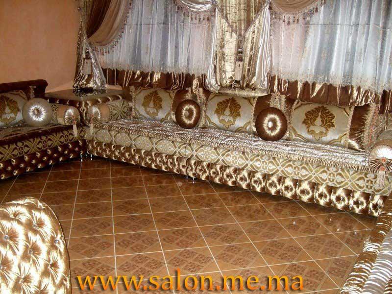 Salon d coration maison 2014 for Matelas de salon marocain