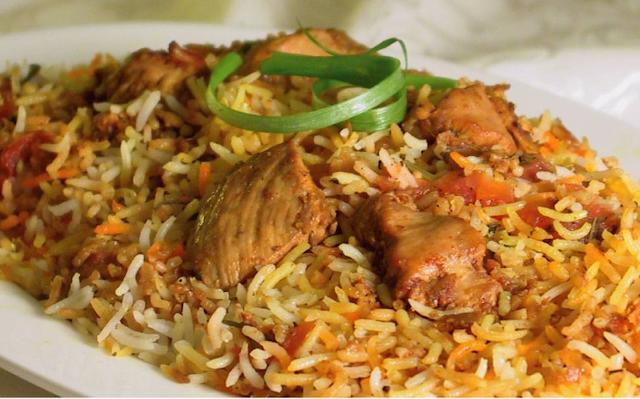 Chicken biryani, Pakistan's national food