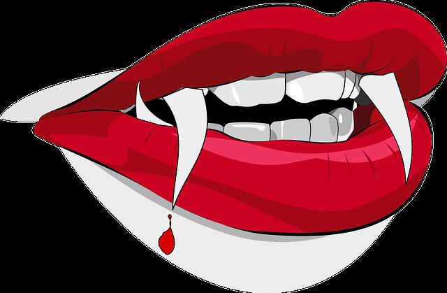labios de vampiro