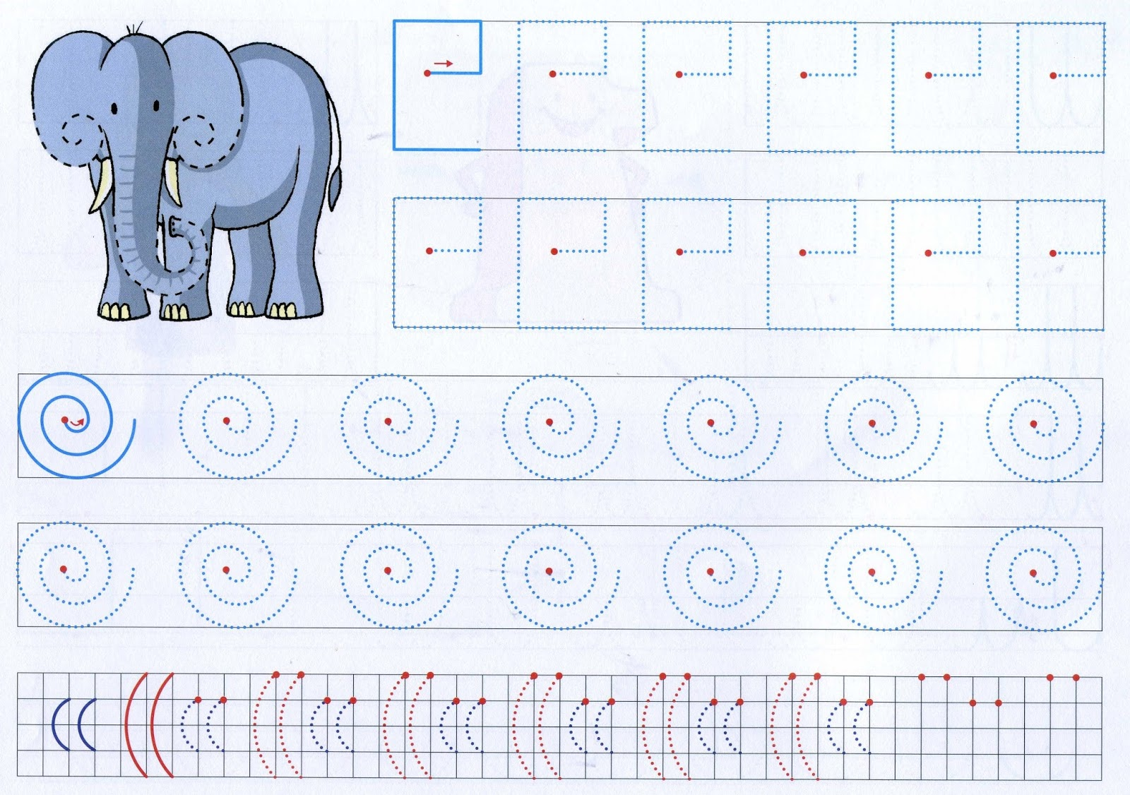 Educating: Tracing Lines Worksheets