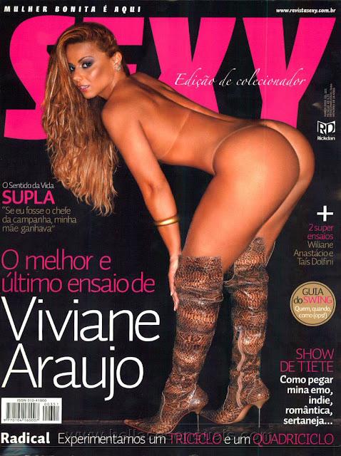 Confira as fotos de Viviane Araújo, capa da Sexy de Março de 2009!