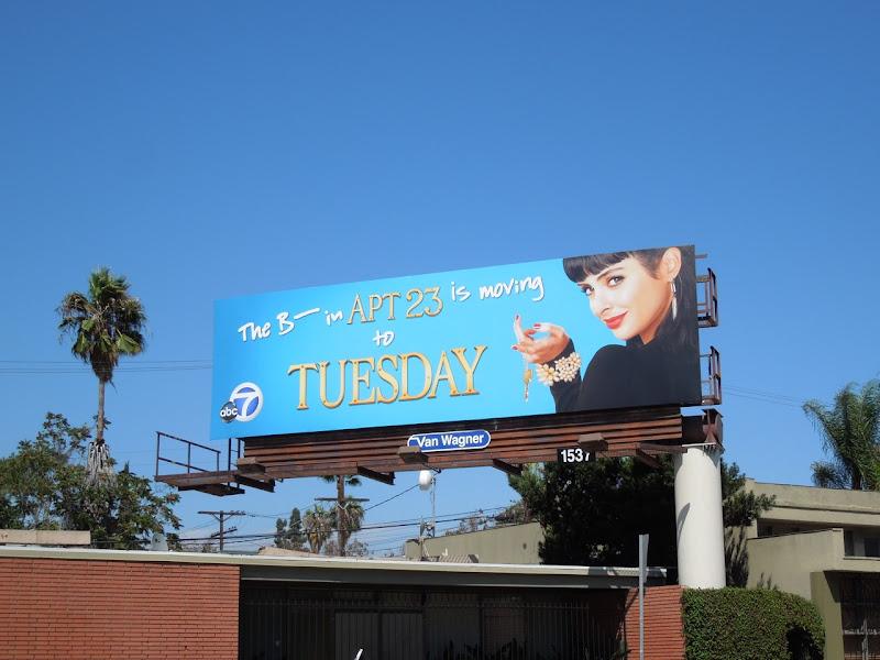 Apt 23 season 2 billboard