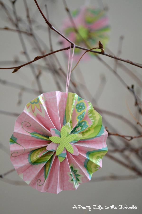 How To Make Paper Accordion Flowers