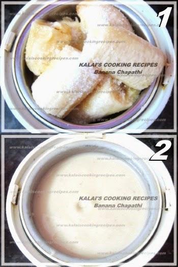 Morris Banana \ Vazhai Pazham Chapathi   Simple Special Breakfast