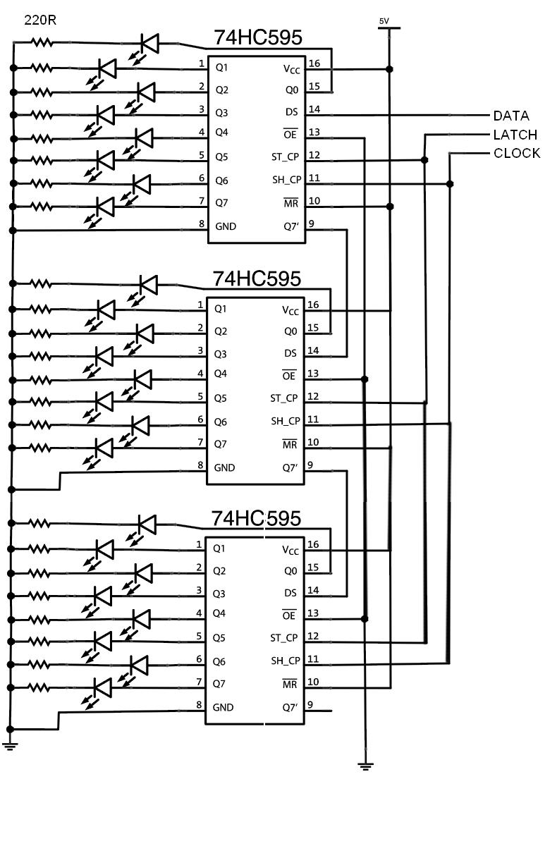 Cissyimedia 2014 Shift Register Circuit Diagram Schematic