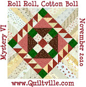 2010 Mystery Quilt #3 - Roll Roll, Cotton Boll