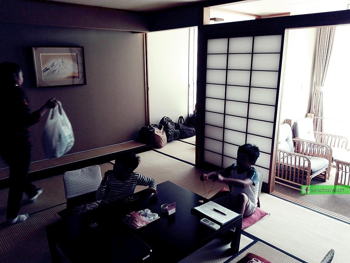ภายในห้องพักรีสอร์ท ออนเซน ญี่ปุ่น