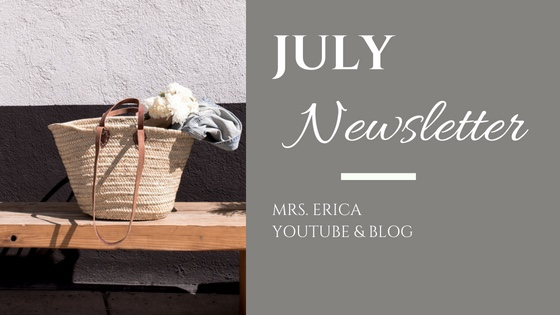 July Monthly Newsletter