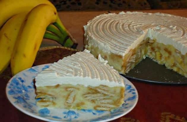 Brza torta s bananama (Brzo će se i pojesti)