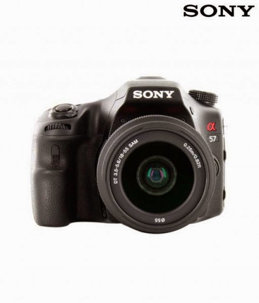 Amazon: Buy Sony SLT A57k Camera with 18-55mm with Case at Rs.25990
