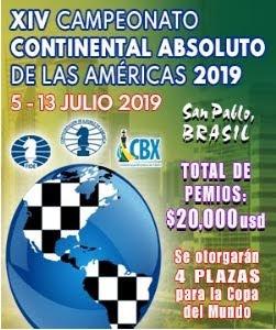 XIV Campeonato Continental Absoluto de las Américas 2019 (Dar clic a la imagen)