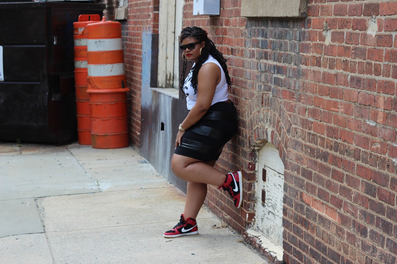 Fashion Challenge: Sneakers with a Skirt or Dress