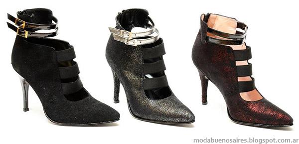 Roberto Piazza zapatos de fiesta 2014. Moda invierno 2014.