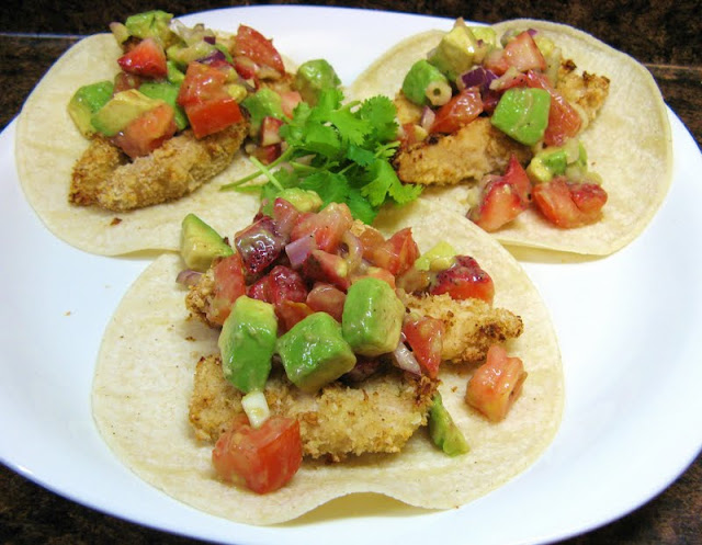 The Well-Fed Newlyweds: Crispy Margarita Chicken Tacos ...