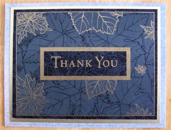 Cre8ivecindy Manly Monday Thank You Cards
