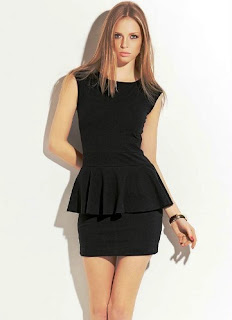 modelo de vestido preto - looks e fotos