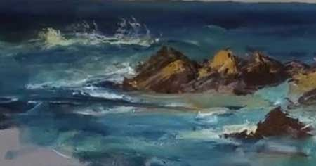 ... with Rocks - Marge Kinney Art - Video Lessons of Drawing & Painting