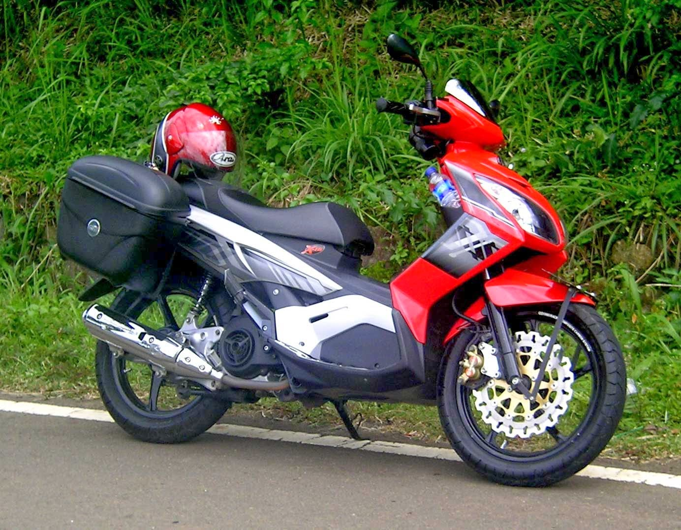 Modifikasi Yamaha Nouvo Standar