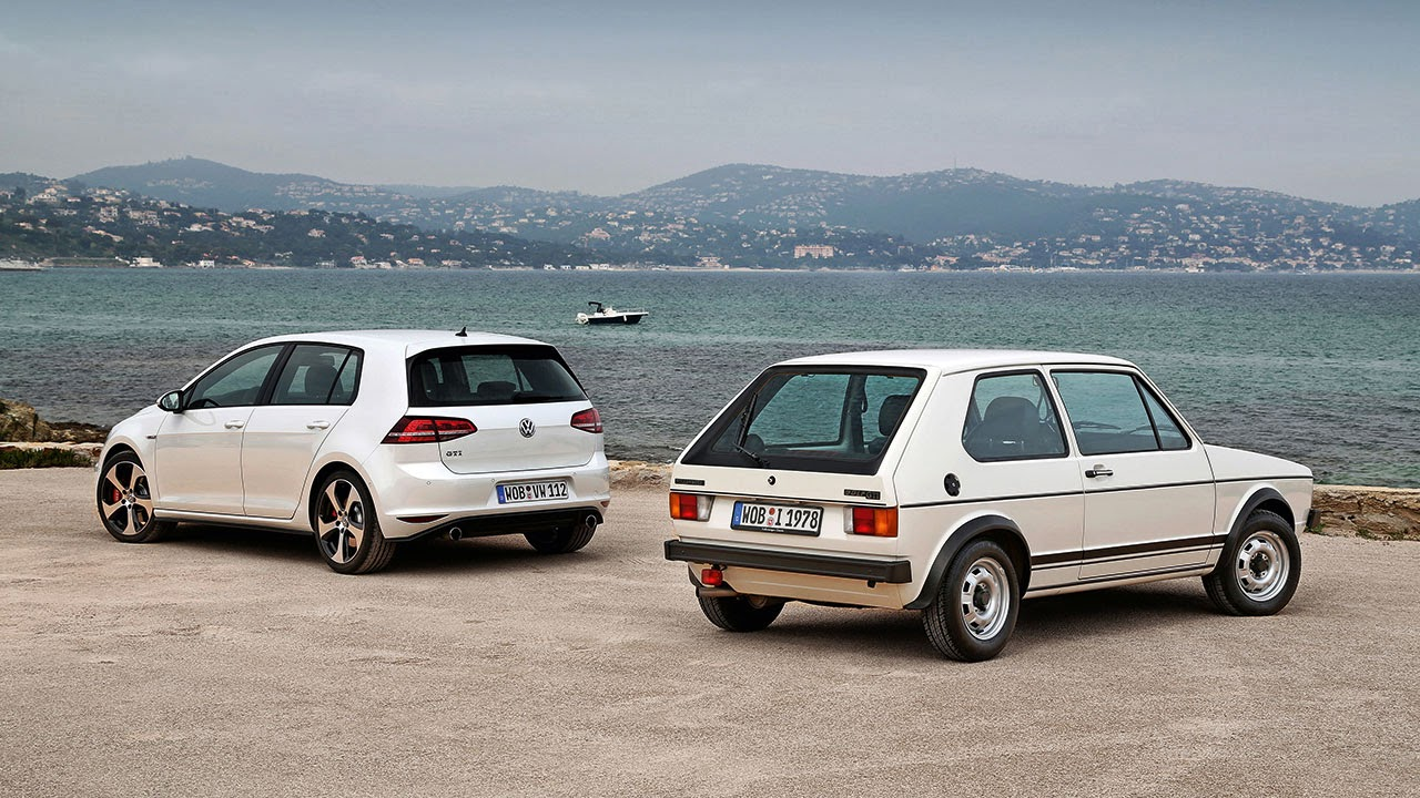 Volkswagen Golf rear - forty years