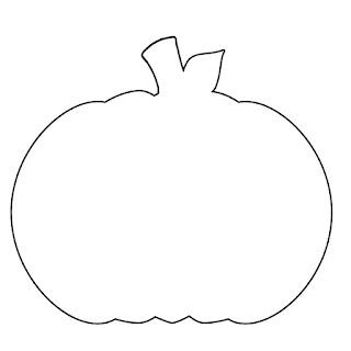 Divine image in printable pumpkin outline