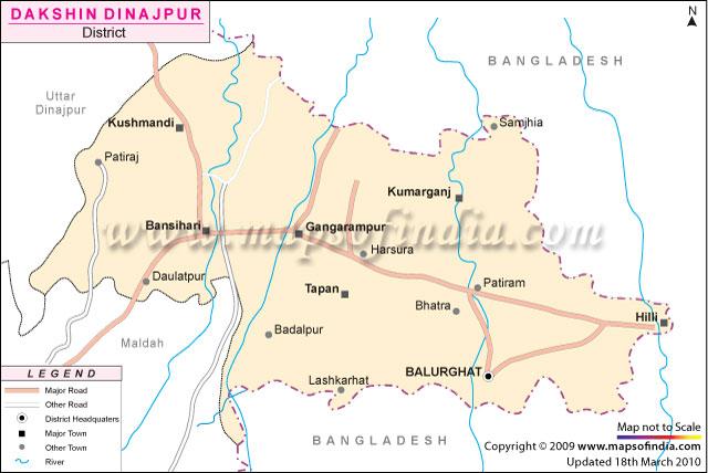 Love U Balurghat - Balurghat map