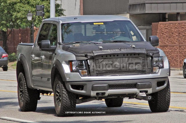 Ford F Svt Raptor Spy Photos From Testing In Michigan