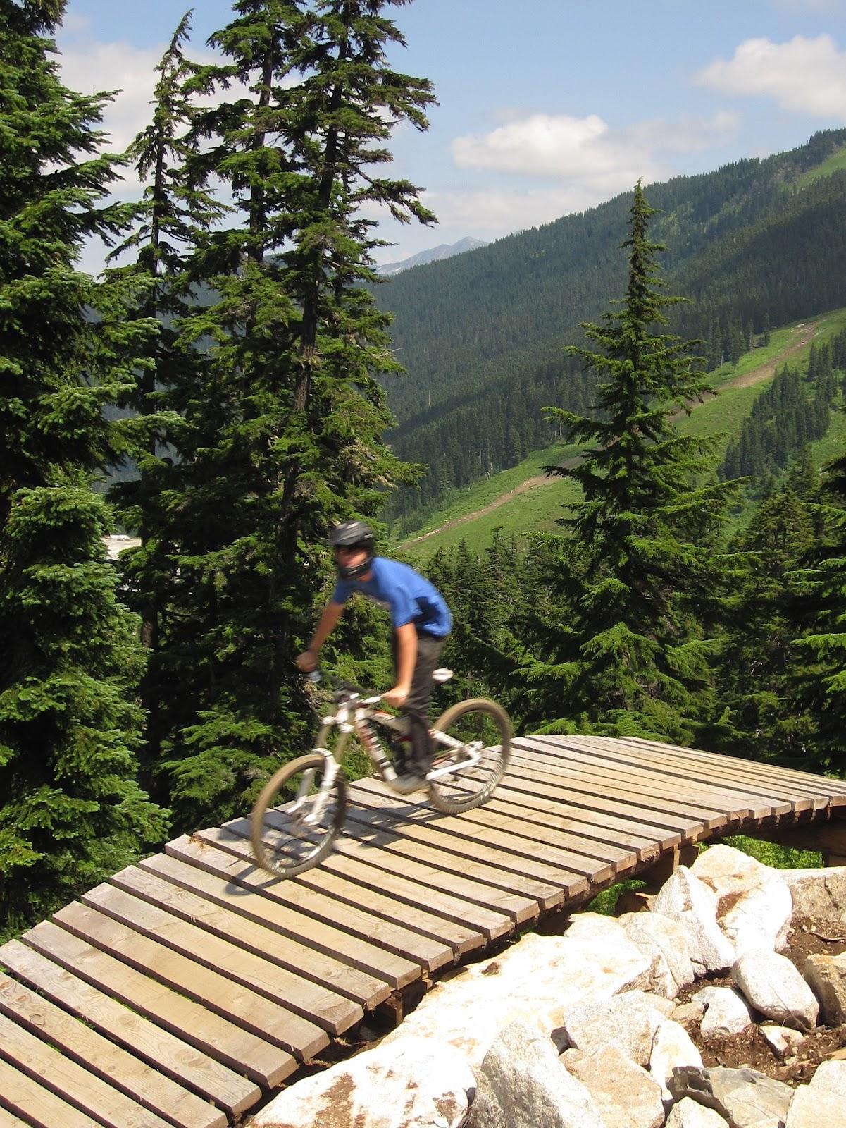 Mike Mcquaide Stevens Pass Bike Park